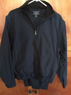 EUC SZ MED. Roundtree&Yorke lined track suit. Navy color