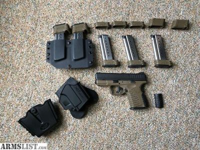 For Sale/Trade: Springfield XDS 9 FDE + Accessories