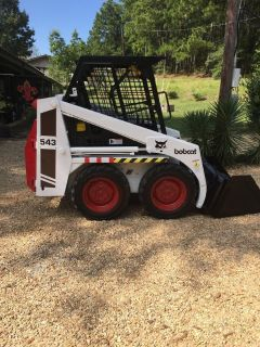 543 Bobcat skid steer
