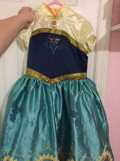 Anna Disney store dress size 9/10
