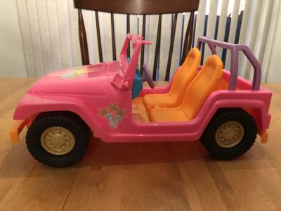 Barbie Motorcycle and Jeep