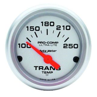 "Sell Auto Meter 4357 Ultra Lite 2 1/16"" Electric Transmission Temp. Gauge 100-250 F motorcycle in Greenville, Wisconsin, US, for US $73.97"