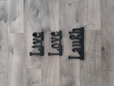Live, Love, Laugh Wooden Signs