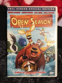 OPEN SEASON DVD - FULL SCREEN - SPECIAL EDITION - 1 HOUR 33 MINUTES- EXCELLENT CONDITION
