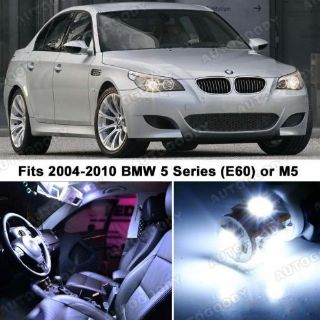 Sell 15 x Premium Xenon White LED Lights Interior Package Upgrade for BMW 5 Series motorcycle in Chicago, Illinois, United States