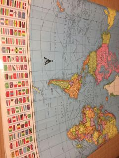 US AND WORLD MAPS 3x4