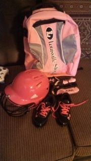 little girl t-ball gear