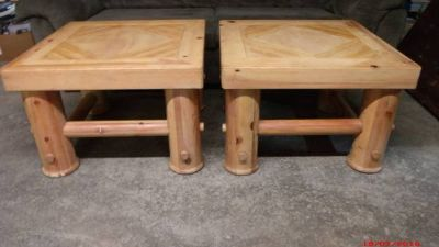 "Rustic Tables $50 ea. ""The Back Forty"", Adel"