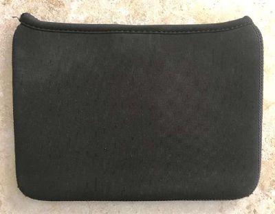 Genuine BlackBerry Playbook Neoprene Sleeve Black Blue Reversible