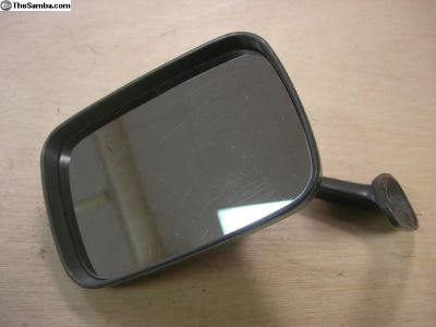 Aftermarket driver side wing mirror M-vc