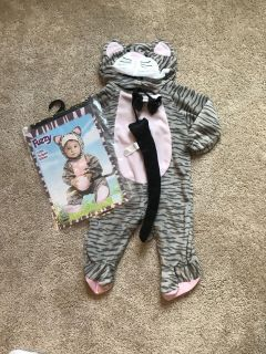 6-12 months kitty costume