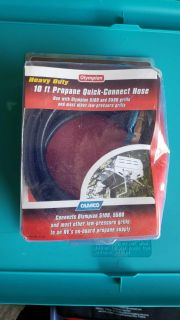 Olympian heavy duty 10ft propane quick connect hose
