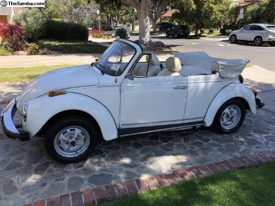 1977 Champaign Edition Super Beetle Convertible