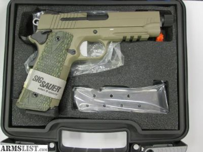 For Sale: NEW SIG SAUER 1911 .45 ACP Scorpion