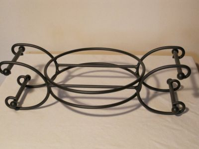 CLEARANCE Longaberger Wrought Iron Convertible Caddy