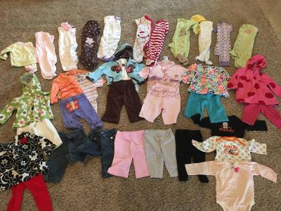 6 Month Fall and Winter Clothing