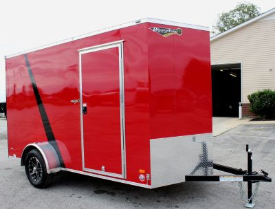 Show Demo 6x12 Cargo Trailer w/Alum Wheels