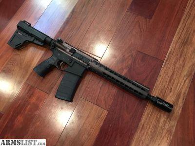 For Sale/Trade: Sig M400 Spartan AR pistol