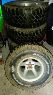 5 33x12.50 r15 rims and tires