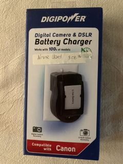 Digital Camera Battery Charger