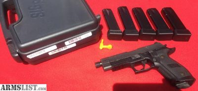 For Sale/Trade: New Sig Sauer P226 9MM TACOPS threaded barrel (5) 20 rd mags nite sites MSRP $1,359