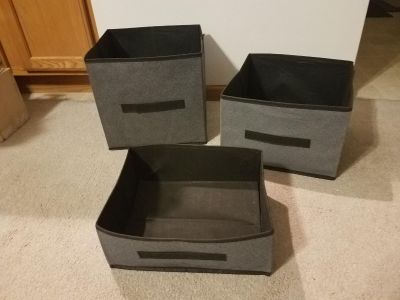 Storage cube boxes GUC *price for all