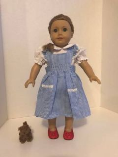 AMERICAN GIRL SIZE DOROTHY WIZARD OF OZ OUTFIT