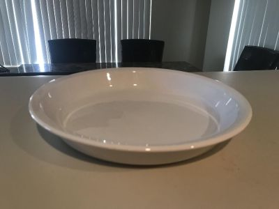 Glass dish