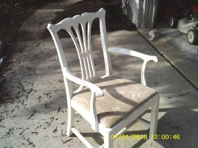 CHAIR VINTAGE SHABBY CHIC ALL WOOD