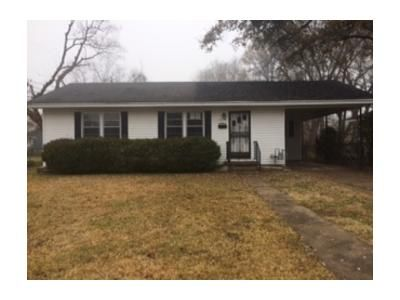 2 Bed 1 Bath Foreclosure Property in Greenville, MS 38701 - W Cotton Dr