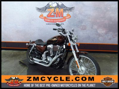 2009 Harley-Davidson Sportster 1200 Custom Sport Motorcycles Greensburg, PA