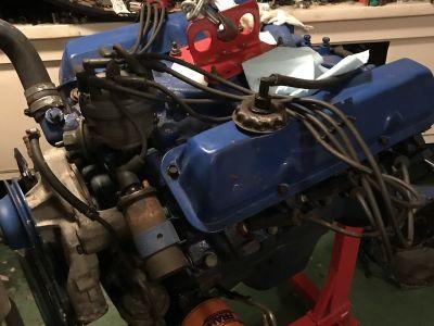 FS - 390 BBF Engine and C6 Transmission MAKE OFFER