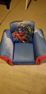 Super hero rocker needs light cleaning seat /arm from use