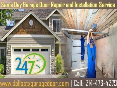 Same Day Garage Door Repair and Installation Service Dallas | Call (214) 473-4279