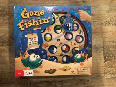 NEW gone fishing game