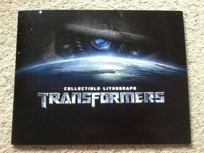 2007 Transformers Collectable Lithograph