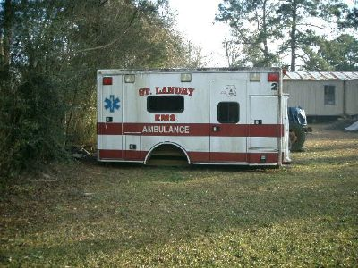 Ambulance Box (Reduced Price)