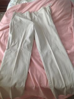Khaki maternity pants, excellent condition