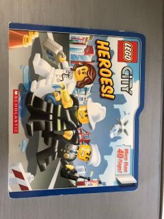LEGO City big board book with lift the flaps