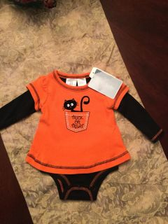 Baby girl Halloween outfit, NWT