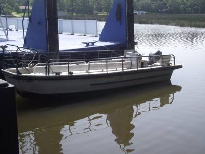 24 Aluminum Boat by Silver Ships