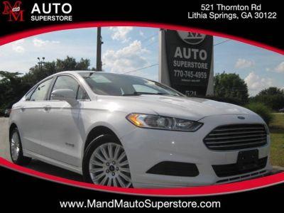 2014 Ford Fusion Hybrid SE (White)