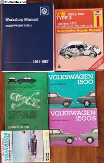 Notchback Owners and Service Manuals 63 and 64