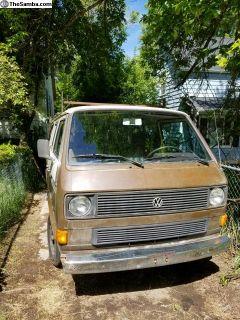 1982 Vanagon diesel to gas conversion