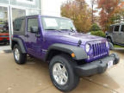 2018 Jeep Wrangler Purple, 15 miles
