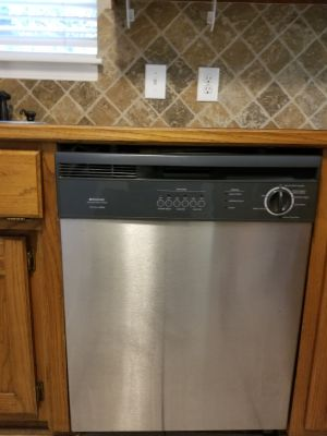 Moving getting new appliances