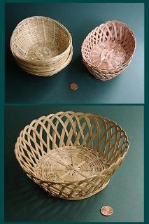 SM BAMBOO WICKER BASKETS-3 kinds, no handle