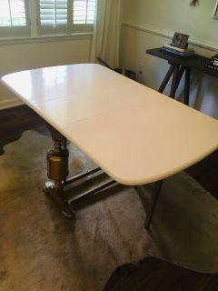 Gorgeous antique drop leaf table