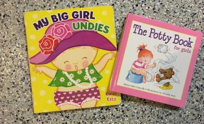 My Big Girl Undies and The Potty Book for Girls Kids Potty Training Books