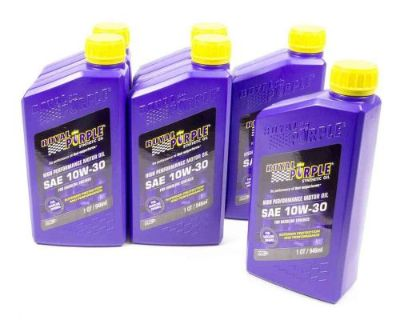 Purchase Royal Purple 06130 Motor Oil - 10W30 - Synthetic - 1 qt - Set of 6 motorcycle in Naples, Florida, United States, for US $69.95